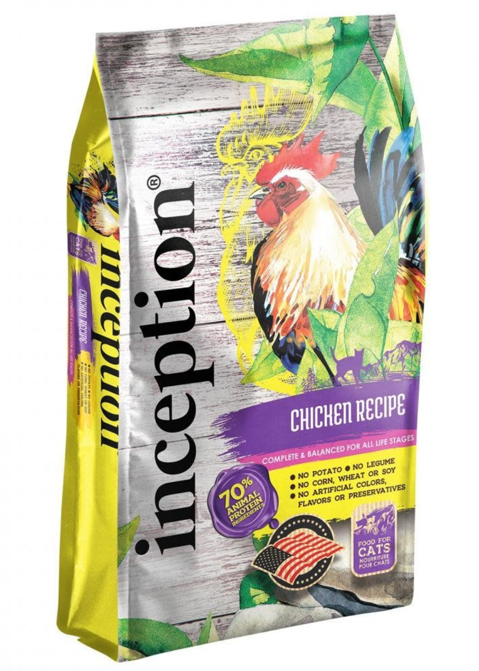 Inception Inception Cat Food Chicken Recipe Dry 4lbs