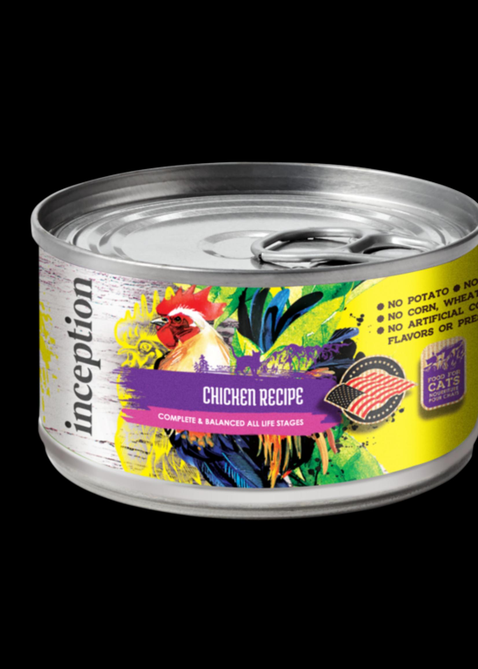 Inception Inception Cat Food Chicken Recipe Wet 5.5oz