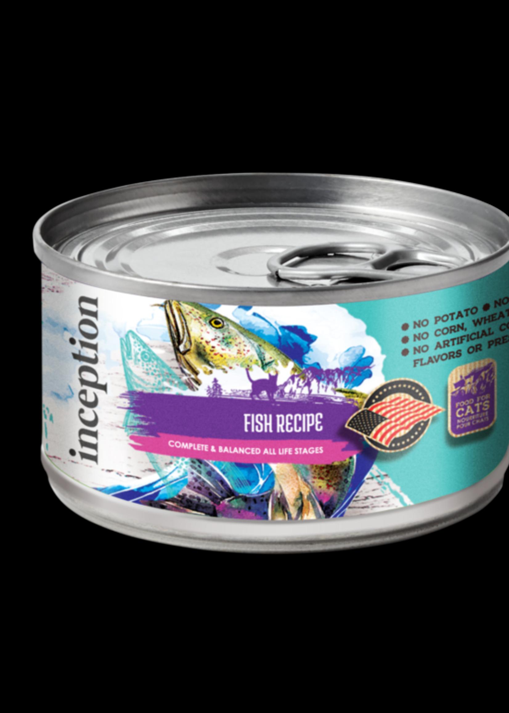 Inception Inception Cat Food Fish Recipe Wet 5.5oz