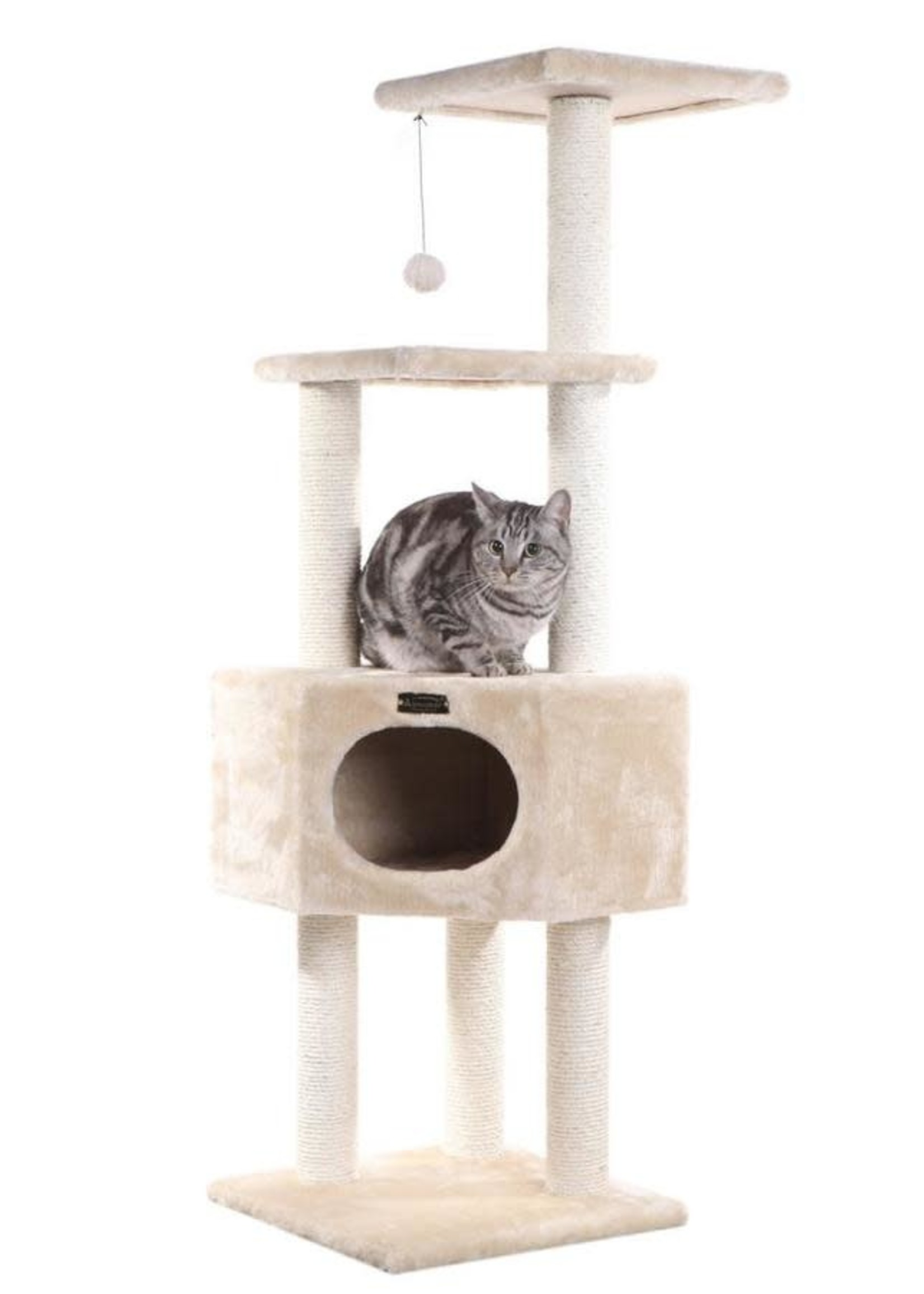 Armarkat Armarkat 3-Tier Cat Tree Beige