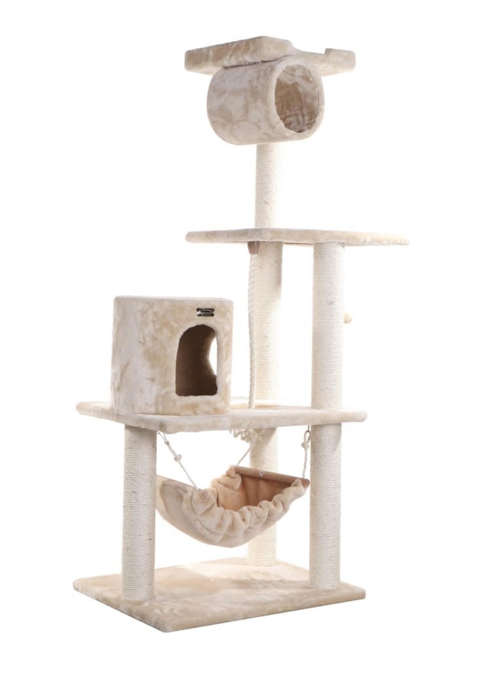 """Armarkat Armarkat 62"""" Cat Tree w/Scratch, Hammock"""