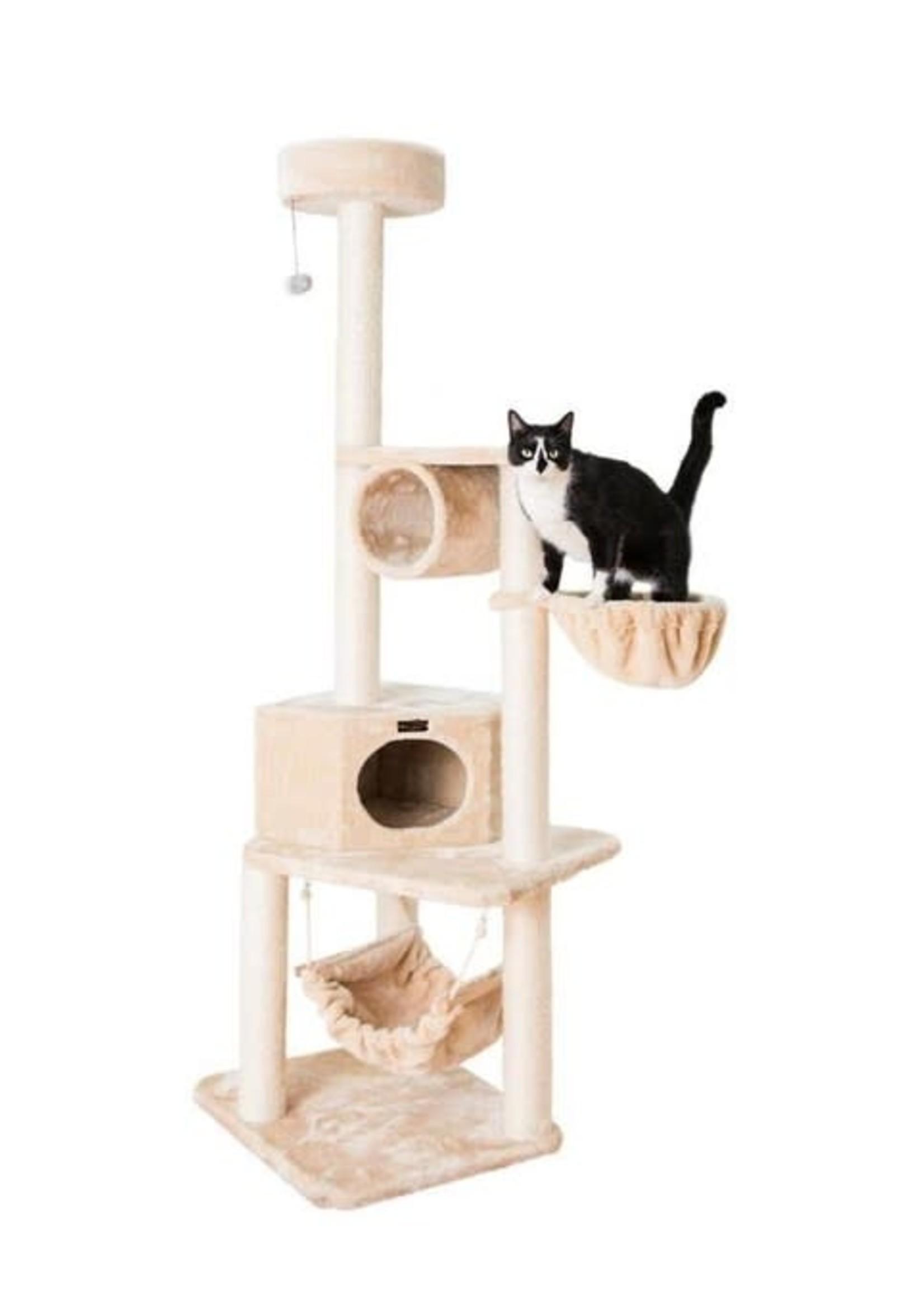 "Armarkat Armarkat 72"" Cat Tower w/Lounge Basket & Perch"