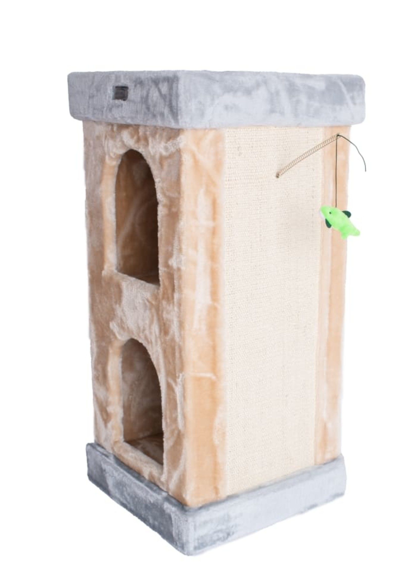 Armarkat Armarkat Double Condo Cat House w/Scratching Carpet