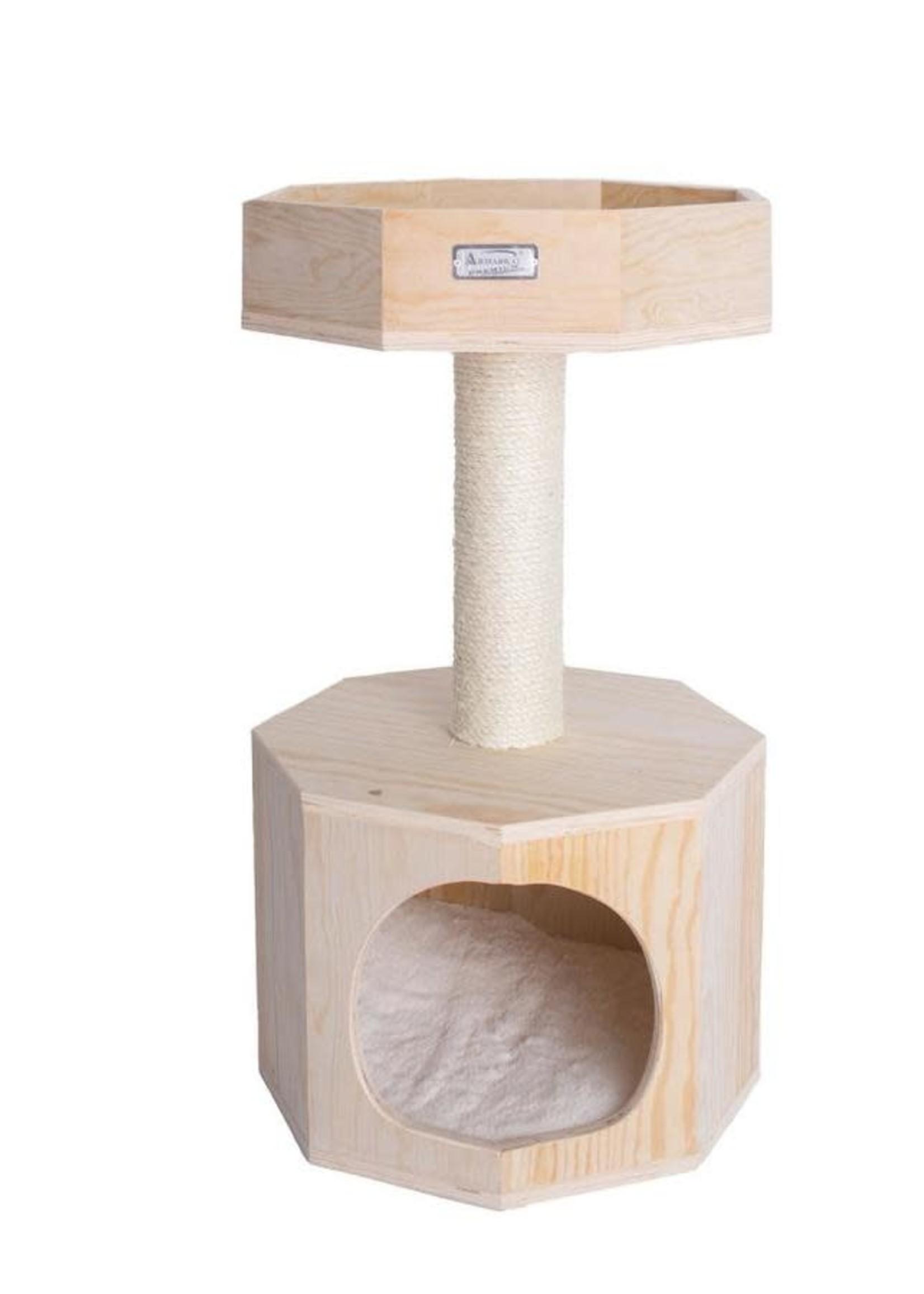 "Armarkat Armarkat 29"" Premium Scots Pine Cat Tree w/Perch & Condo"