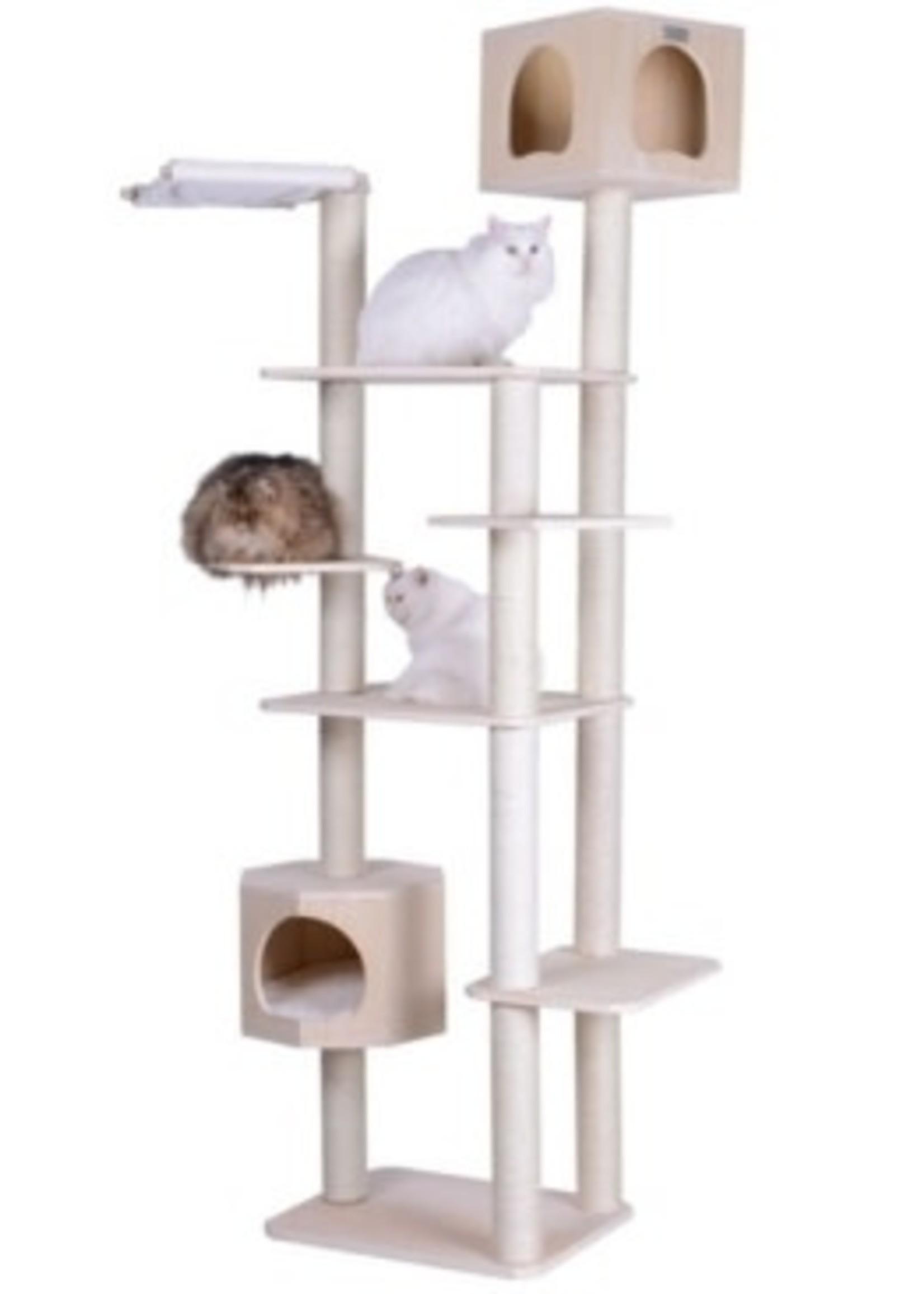 "Armarkat Armarkat 89"" Premium Scots Pine Cat Tower w/Seven Levels, Two Playhouses"
