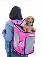 Armarkat Armarkat Pets Backpack Pet Carrier Pink/Gray