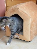 Armarkat Armarkat Indoor Cat house w/Mat Brown & Beige