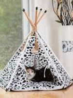 Armarkat Armarkat Pet Teepee Cat Bed w/Durable Fabric
