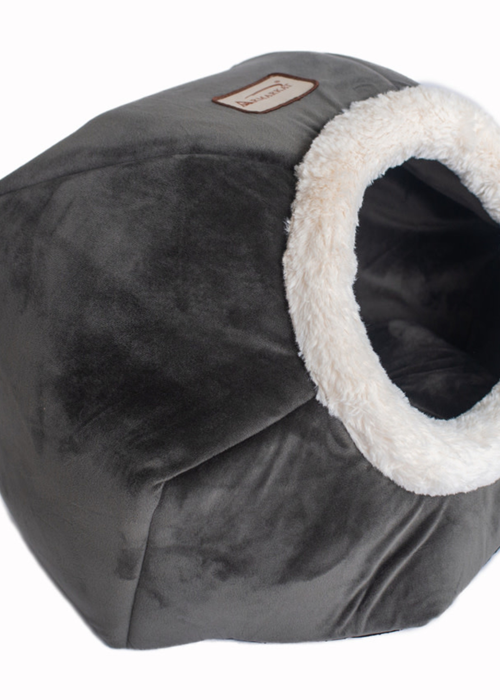 Armarkat Armarkat Cat Bed Gray Velvet
