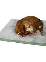 Armarkat Armarkat Small Memory Foam Orthopedic Dog Bed/Mat Sage Green/Grey