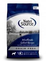 Nutrisource Nutrisource Woodlands Select Grain-Free Dry Dog Food 15lbs
