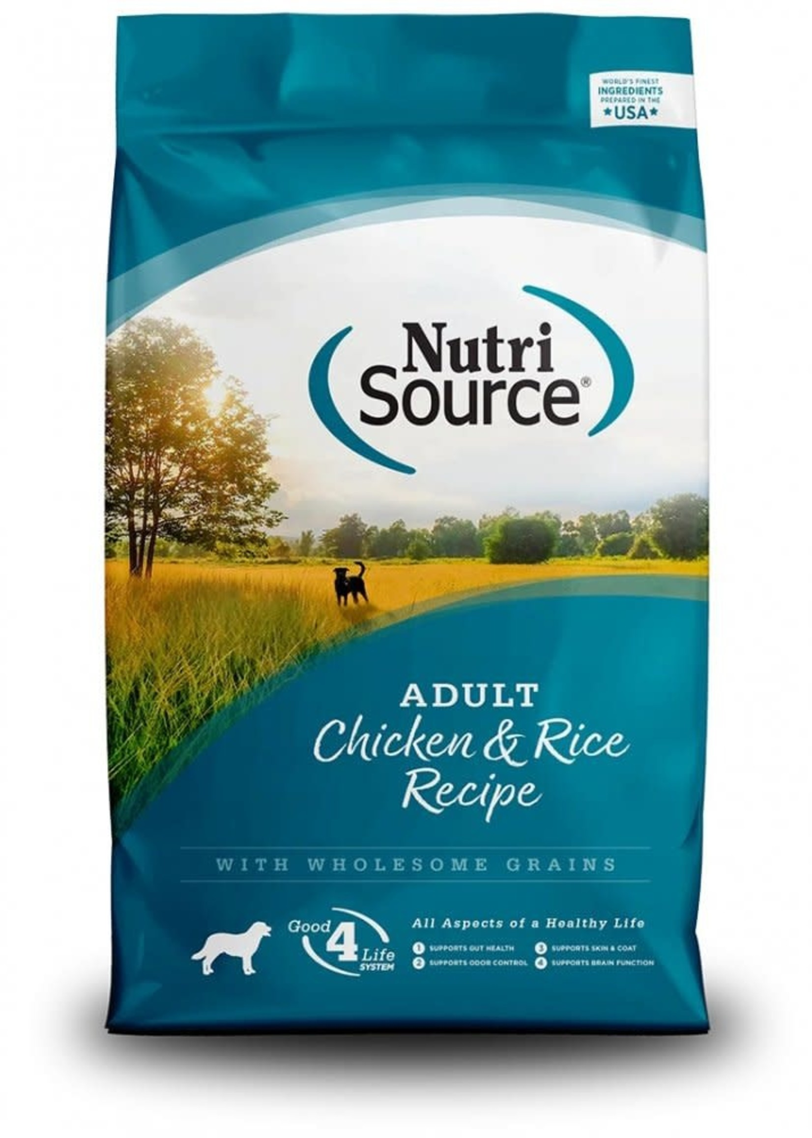 Nutrisource Nutrisource Adult Chicken & Rice Dry Dog Food 15lbs