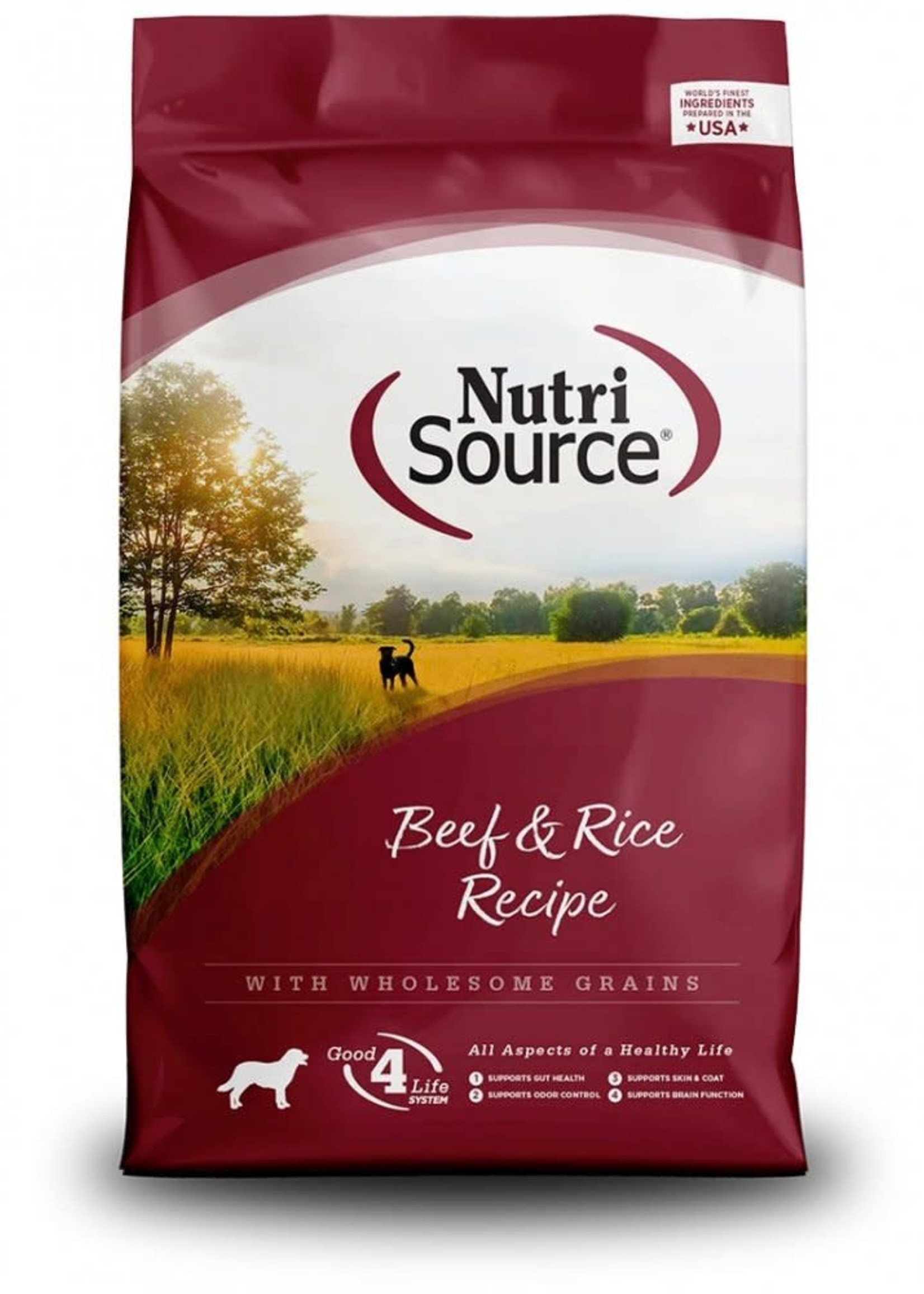 Nutrisource Nutrisource Beef & Rice Dry Dog Food 30lbs