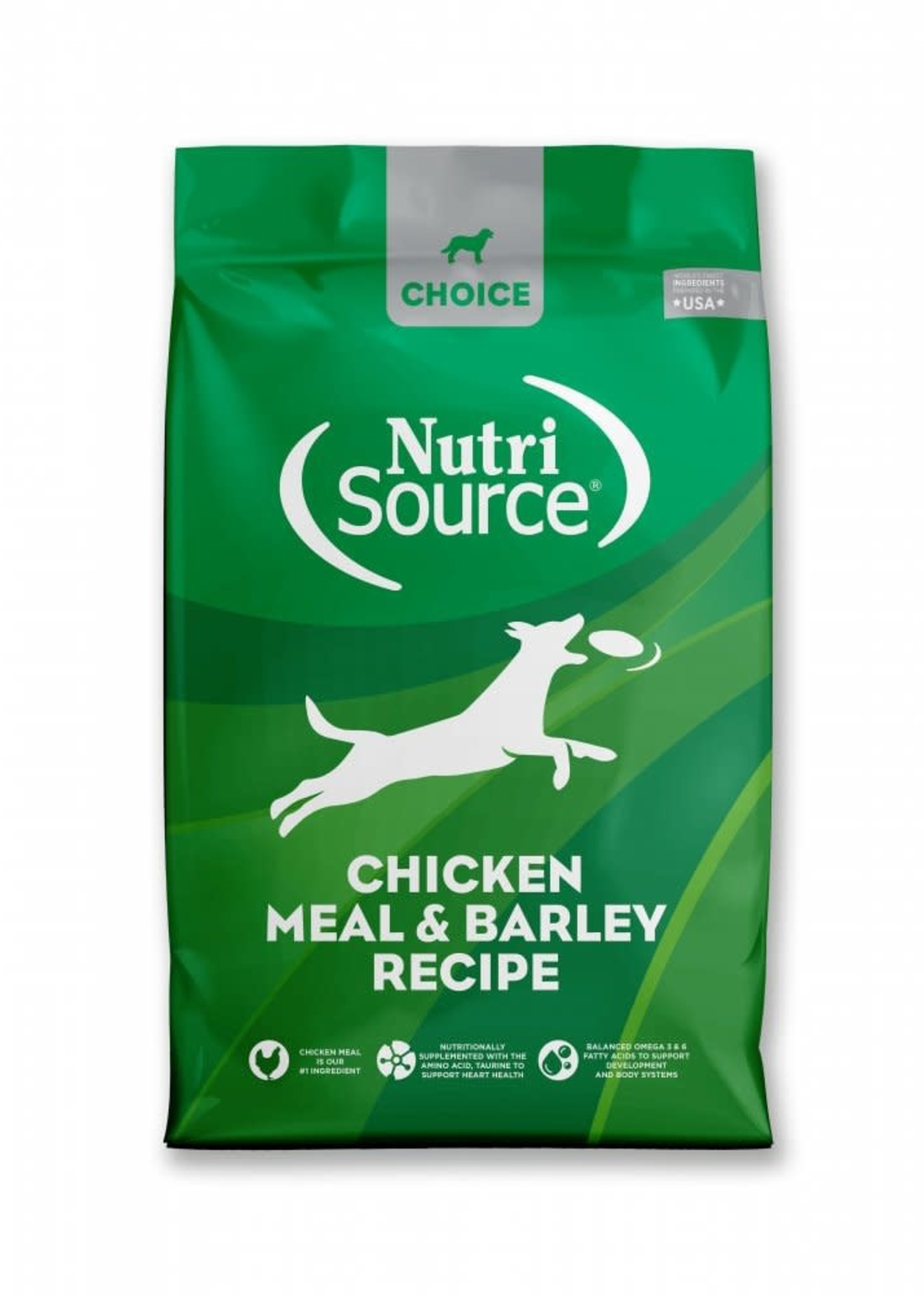 Nutrisource Nutrisource Choice Chicken Meal & Barley Dry Dog Food 30lbs