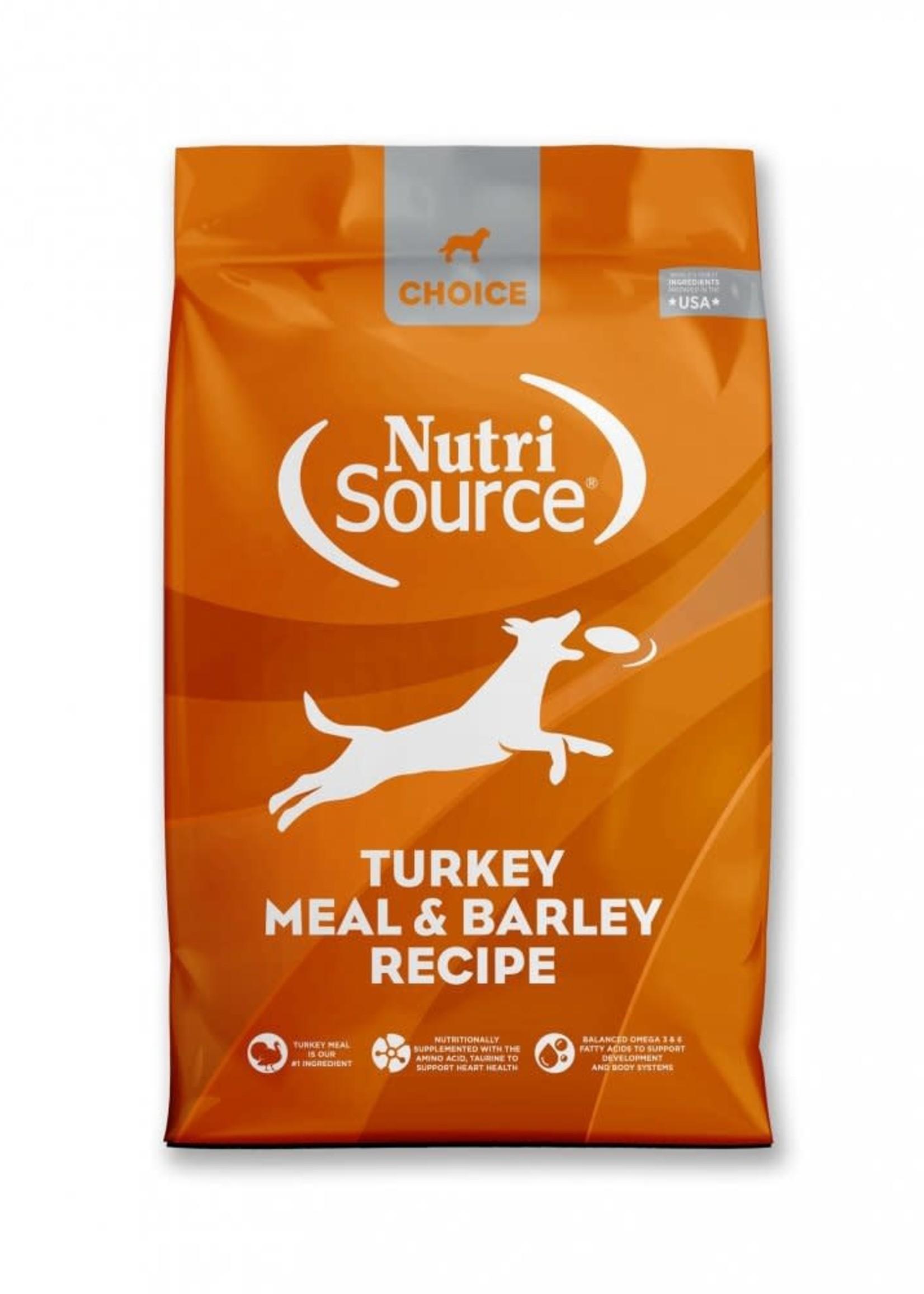 Nutrisource Nutrisource Choice Turkey Meal & Barley Dry Dog Food 30lbs