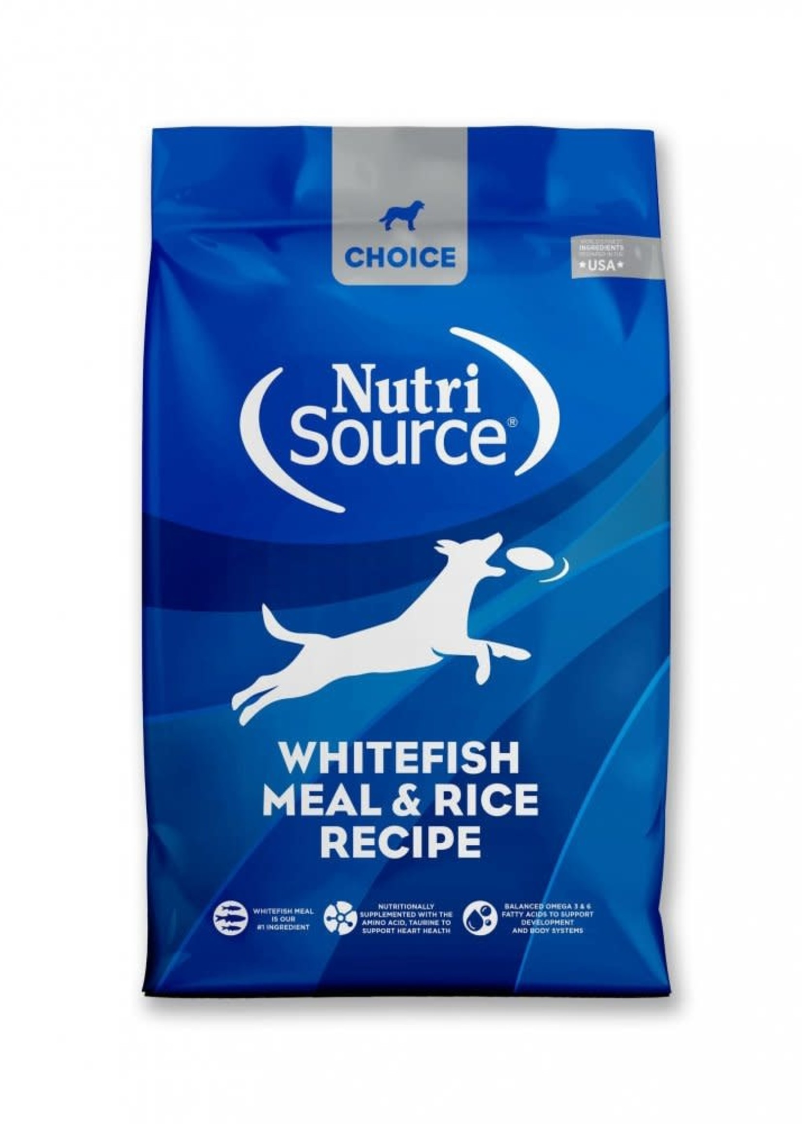 Nutrisource Nutrisource Choice Whitefish Meal & Rice Dry Dog Food 5lbs