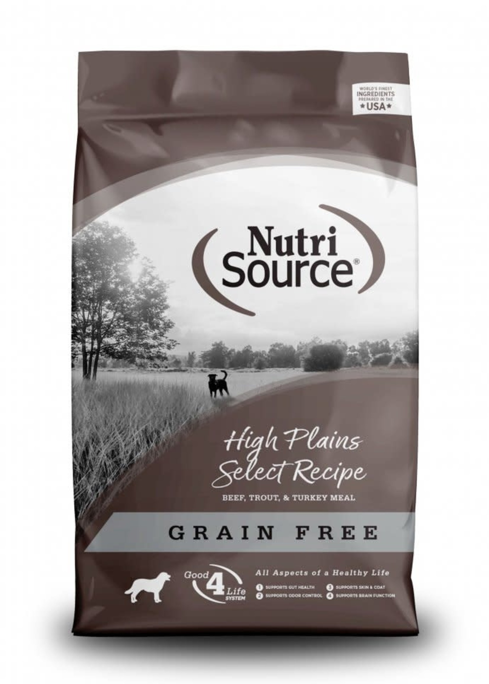 Nutrisource Nutrisource Grain-Free High Plains Select Dry Dog Food 5lbs