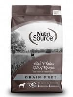 Nutrisource Nutrisource Grain-Free High Plains Select Dry Dog Food 15lbs