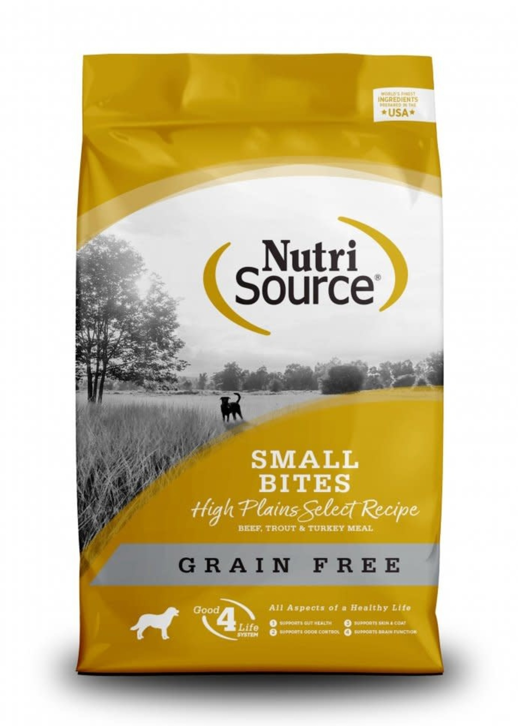 Nutrisource Nutrisource Grain-Free High Plains Small Bites Dry Dog Food 15lbs