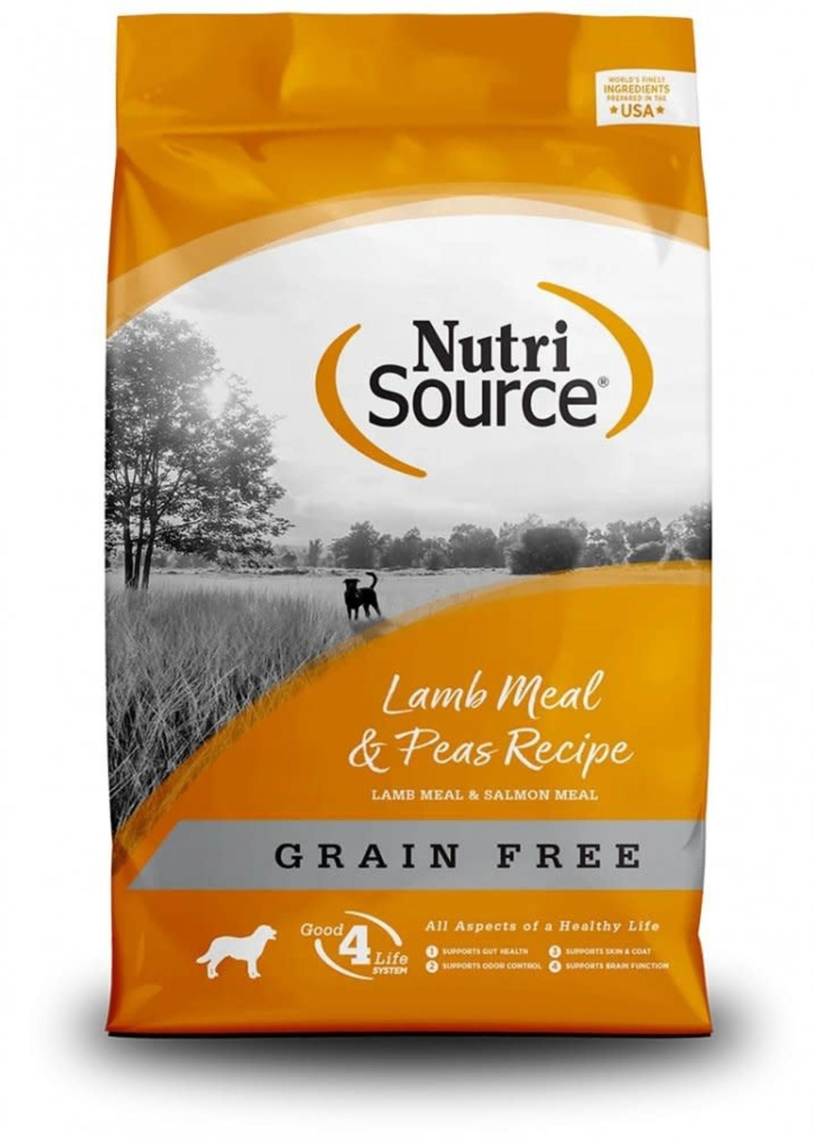 Nutrisource Nutrisource Grain-Free Lamb & Peas Dry Dog Food 5lbs