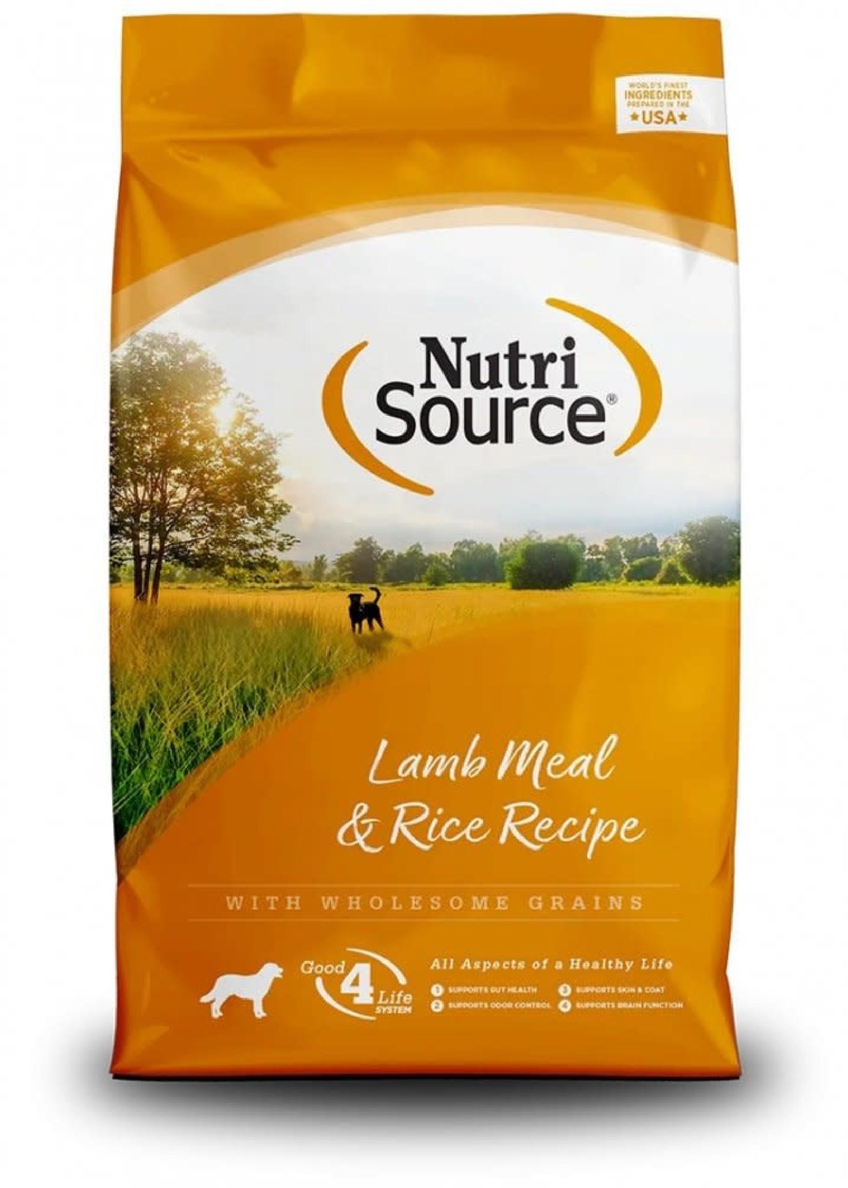 Nutrisource Nutrisource Lamb & Rice Dry Dog Food 5lbs