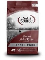 Nutrisource Nutrisource Grain-Free Prairie Select Dry Dog Food 15lbs