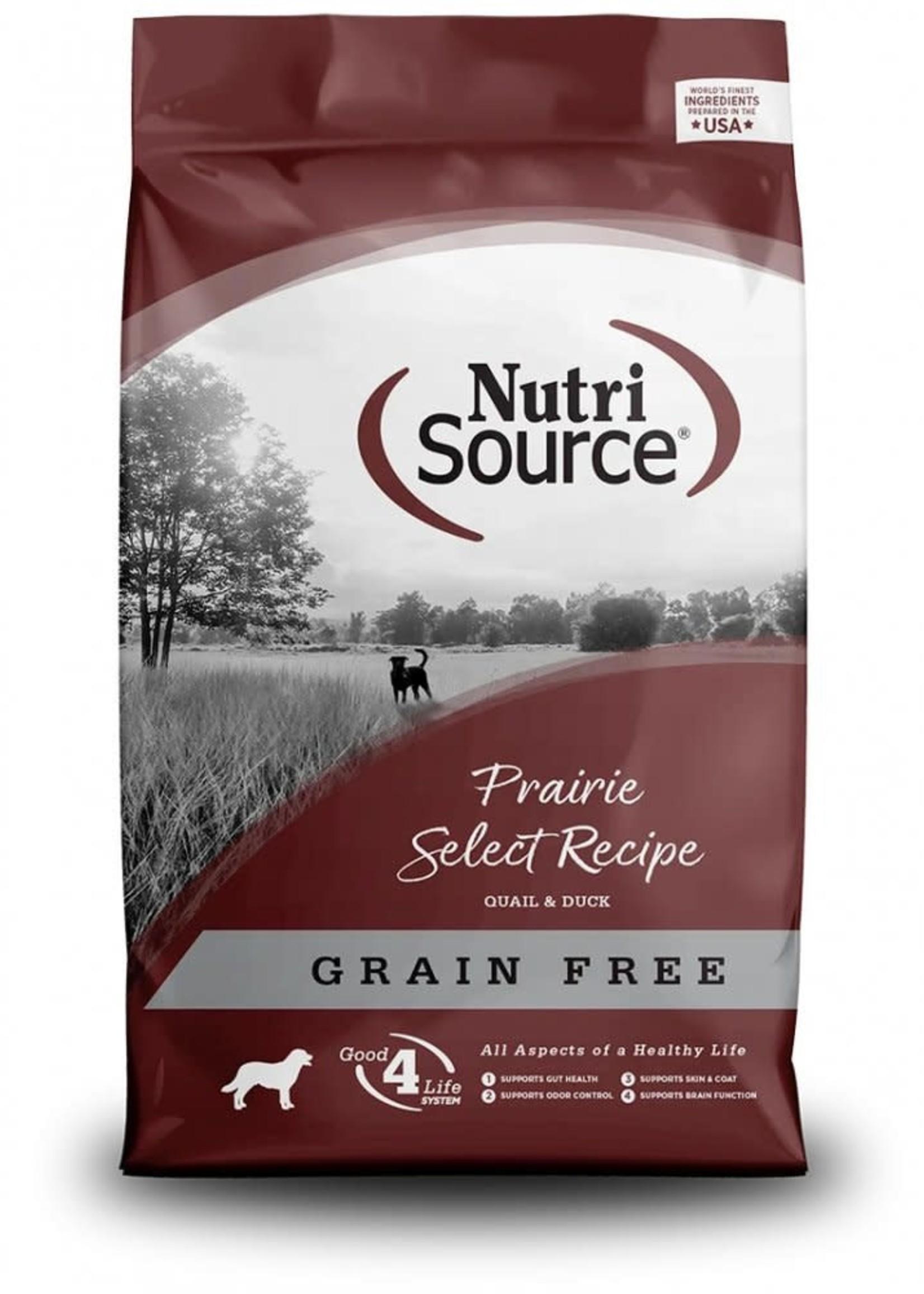 Nutrisource Nutrisource Grain-Free Prairie Select Dry Dog Food 5lbs