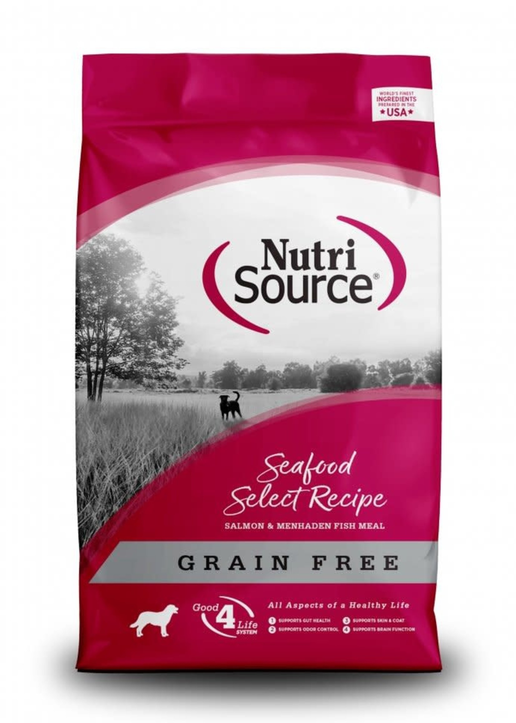 Nutrisource Nutrisource Grain-Free Seafood Select Dry Dog Food 5 lbs