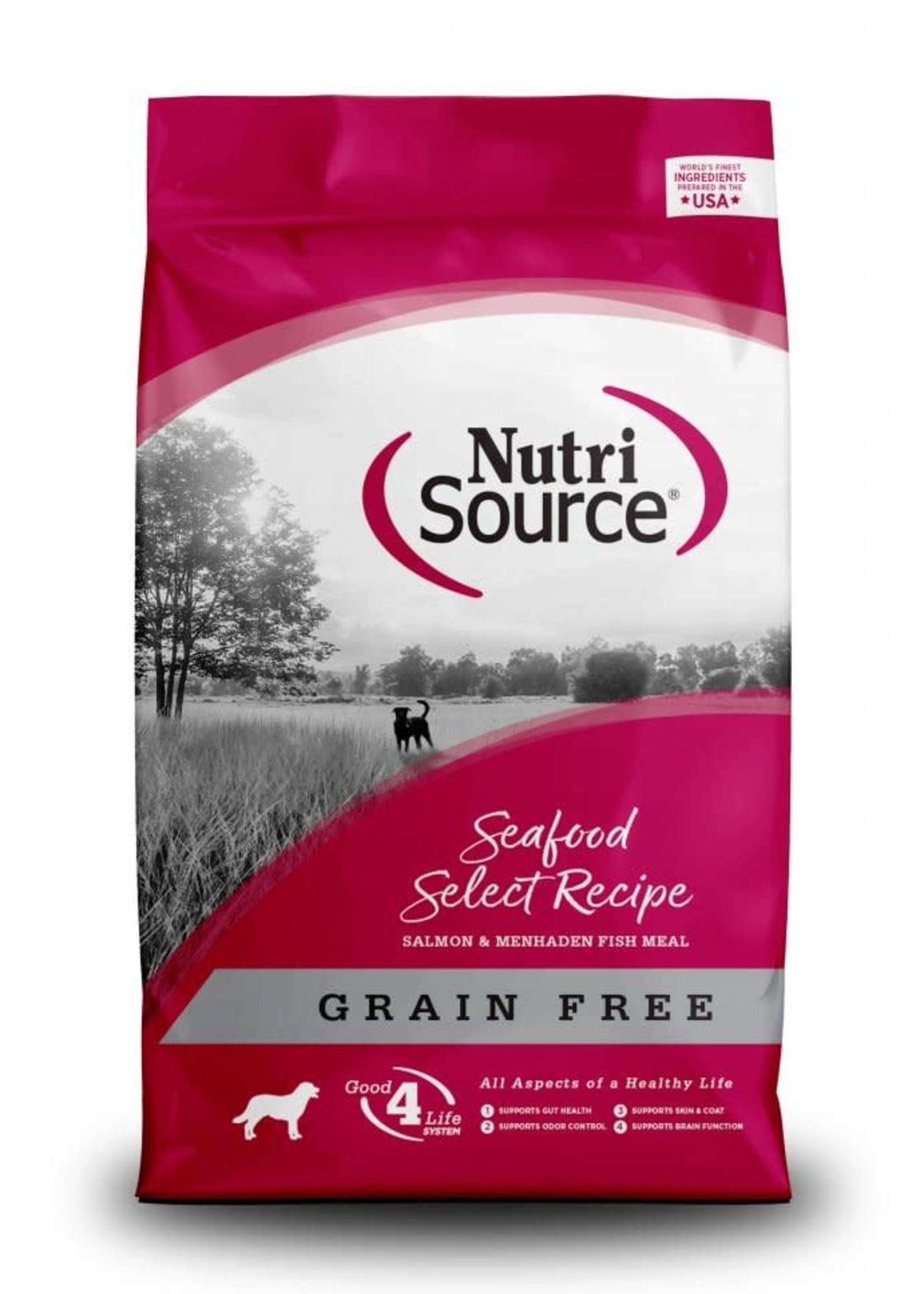 Nutrisource Nutrisource Grain-Free Seafood Select Dry Dog Food 30lbs