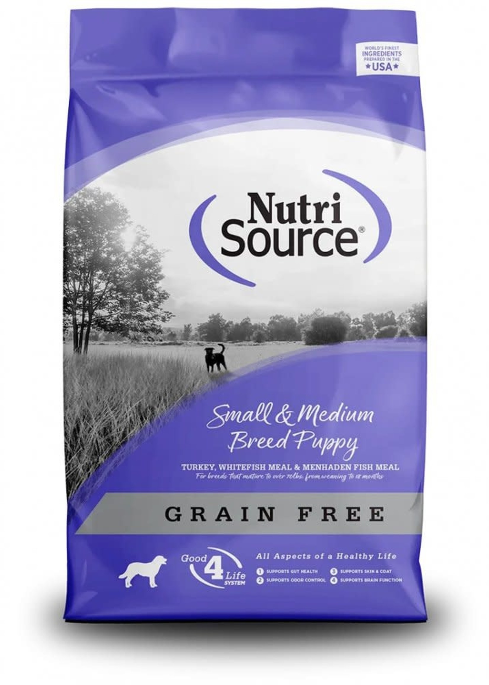 Nutrisource Nutrisource Grain-Free Small & Medium Puppy Dry Dog Food 30 lbs