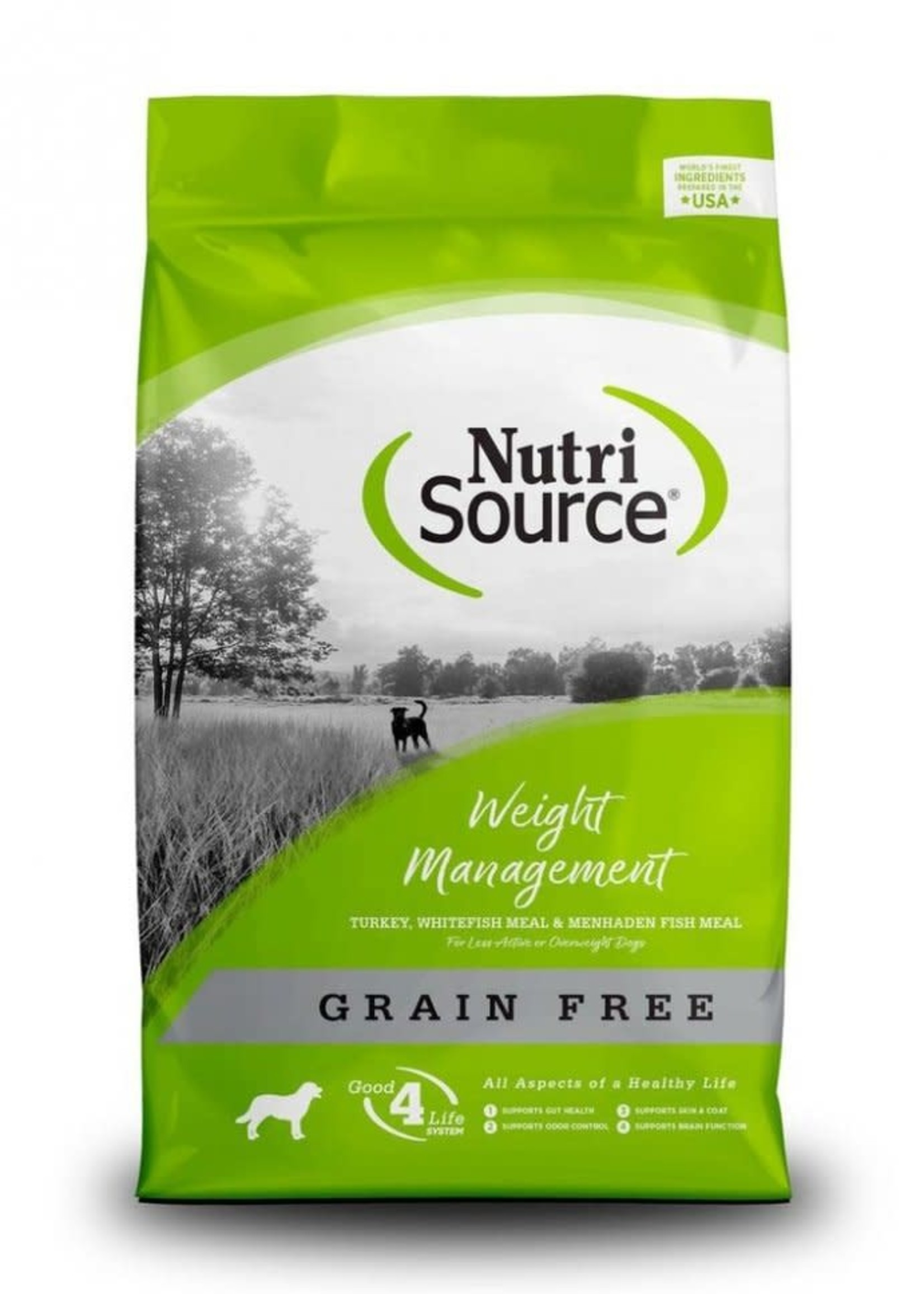 Nutrisource Nutrisource Grain-Free Weight Management Dry Dog Food 15lbs