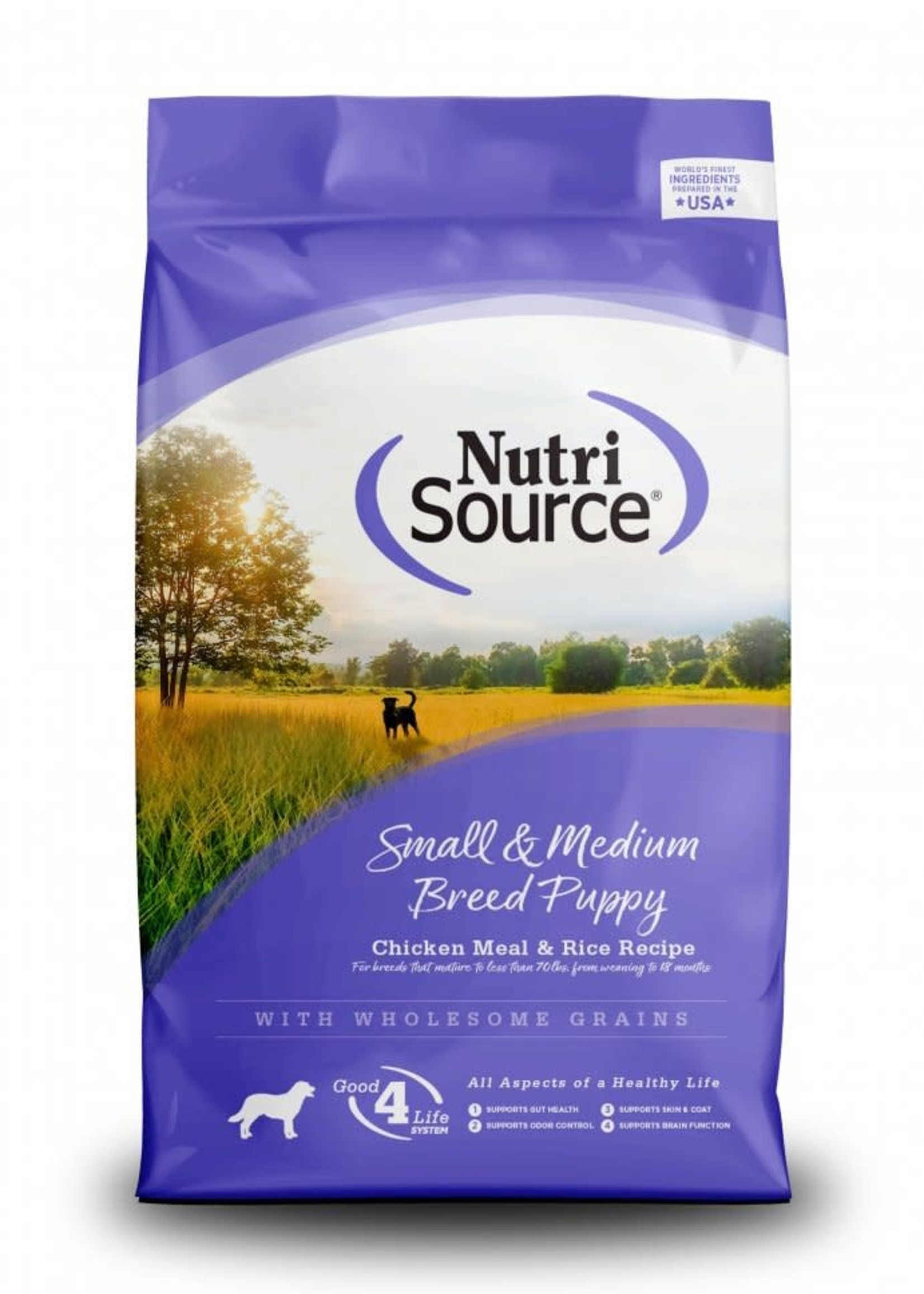 Nutrisource Nutrisource Puppy Small & Medium Breed Dry Dog Food 5lbs