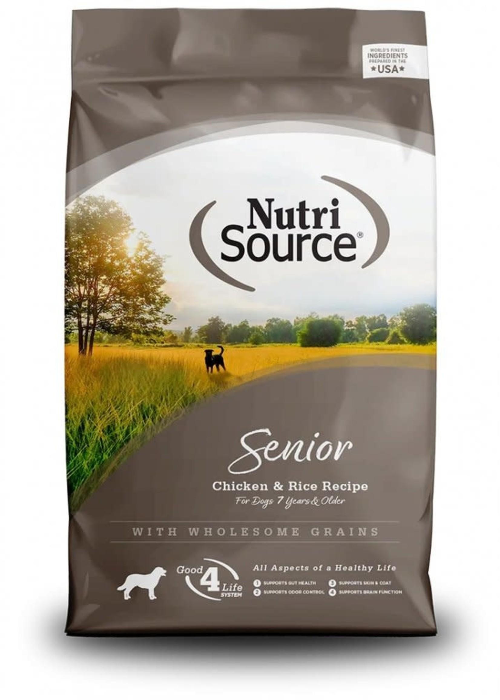 Nutrisource Nutrisource Senior Dry Dog Food 30lbs