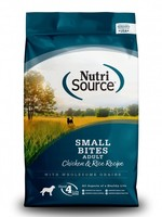 Nutrisource Nutrisource Small Bites Chicken & Rice Dry Dog Food 5lbs