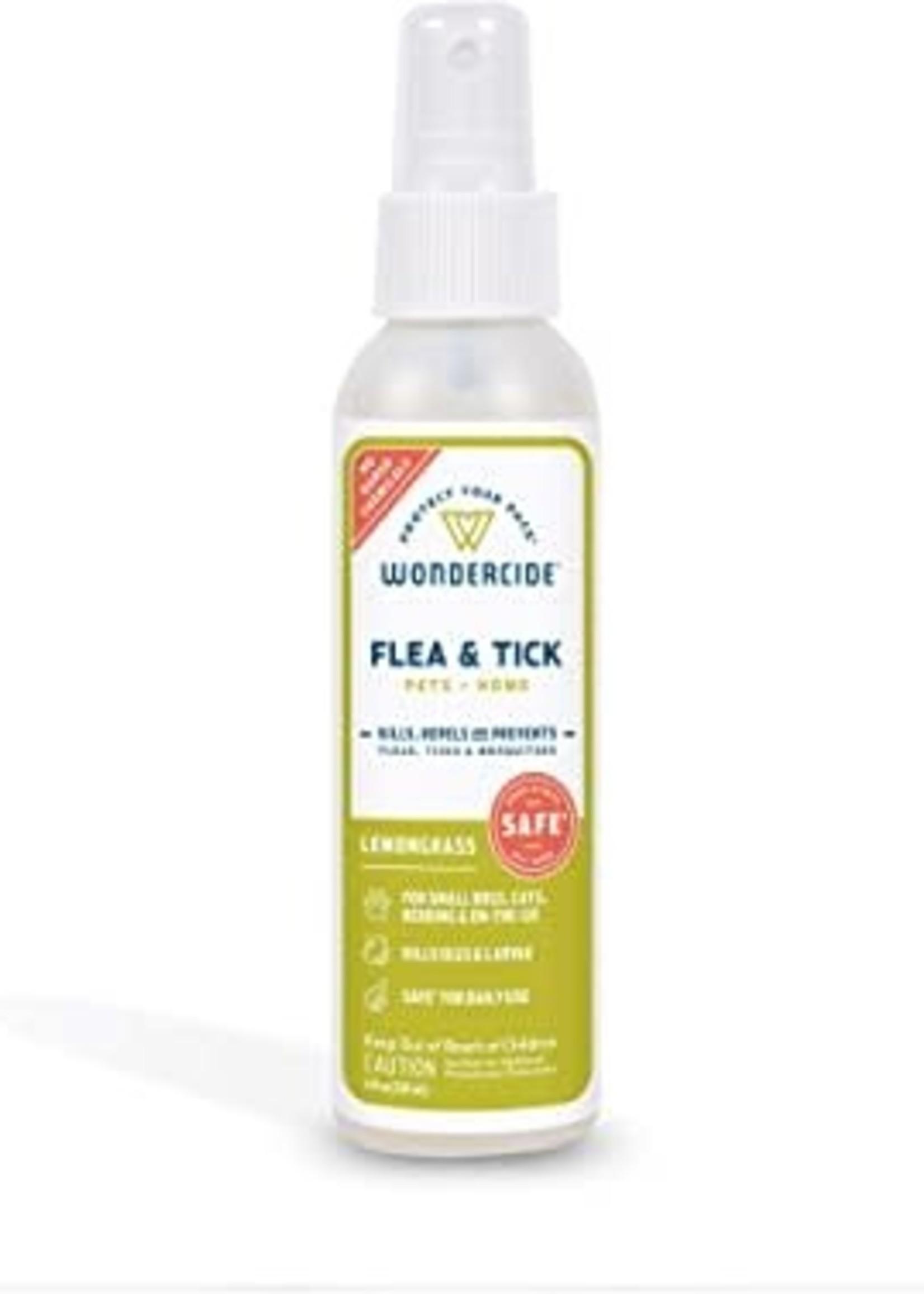 Wondercide Wondercide Flea & Tick Spray Lemon 4 oz