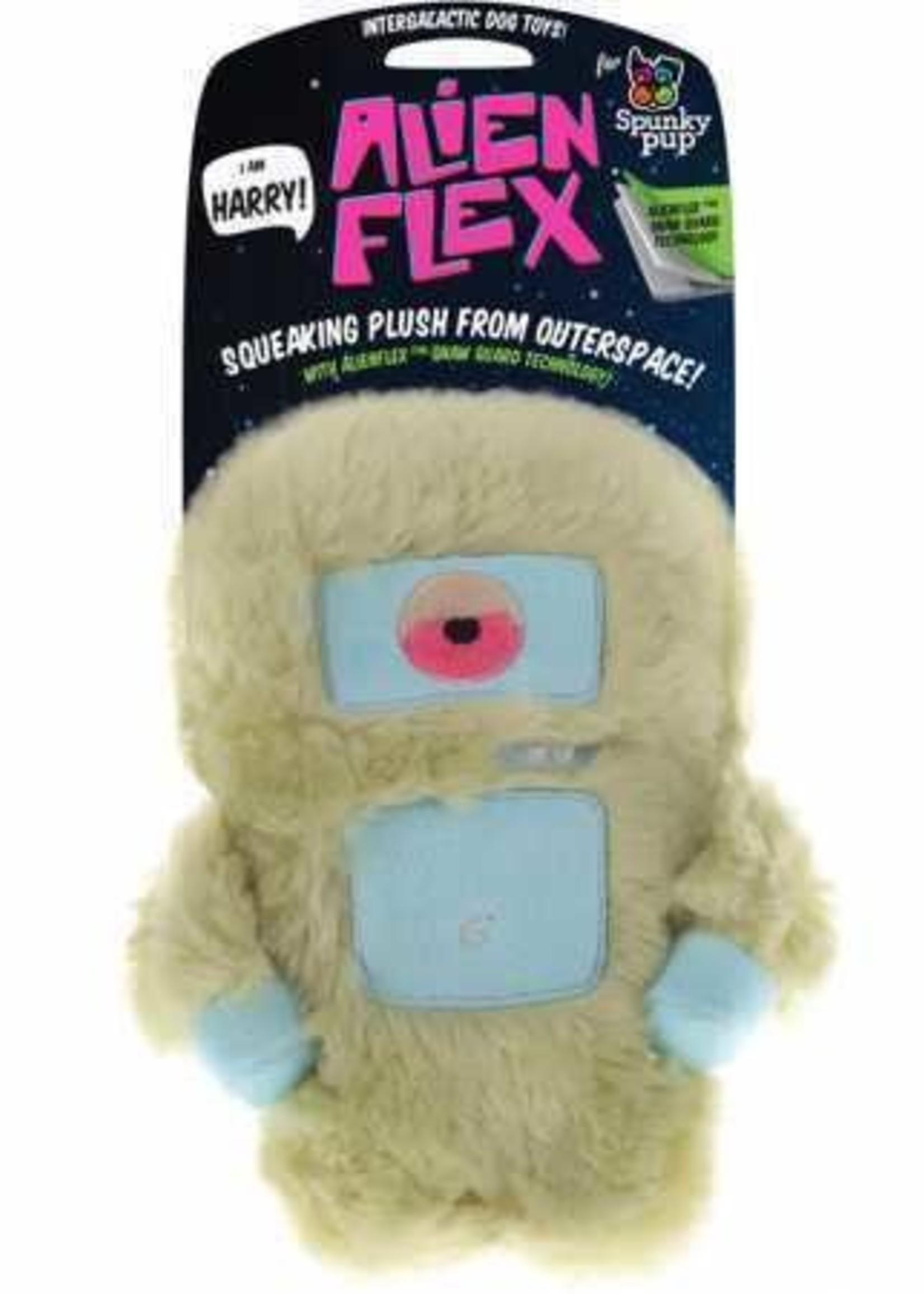 Spunky Pup Alien Flex - Plush Harry