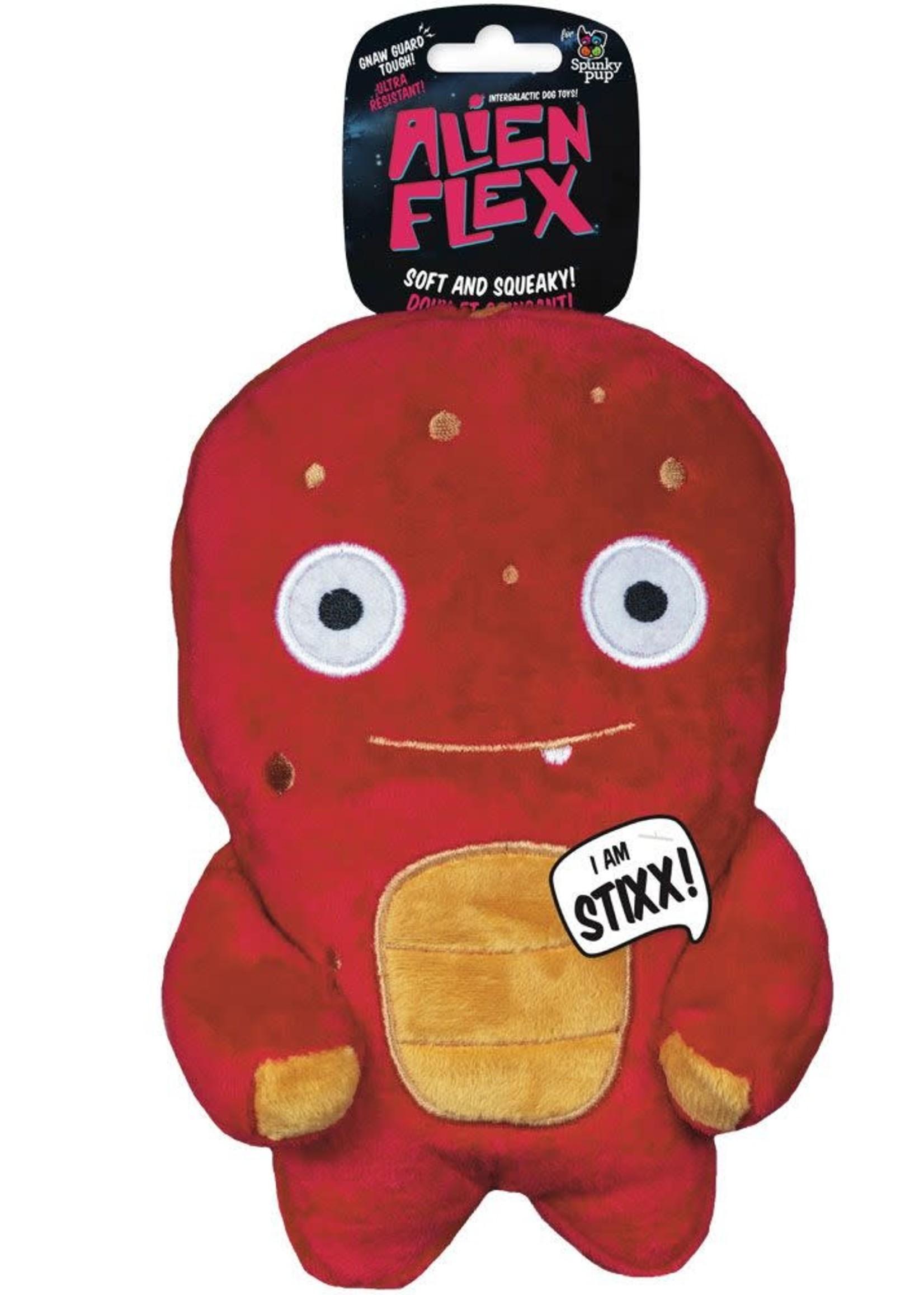 Spunky Pup Alien Flex - Plush Stixx