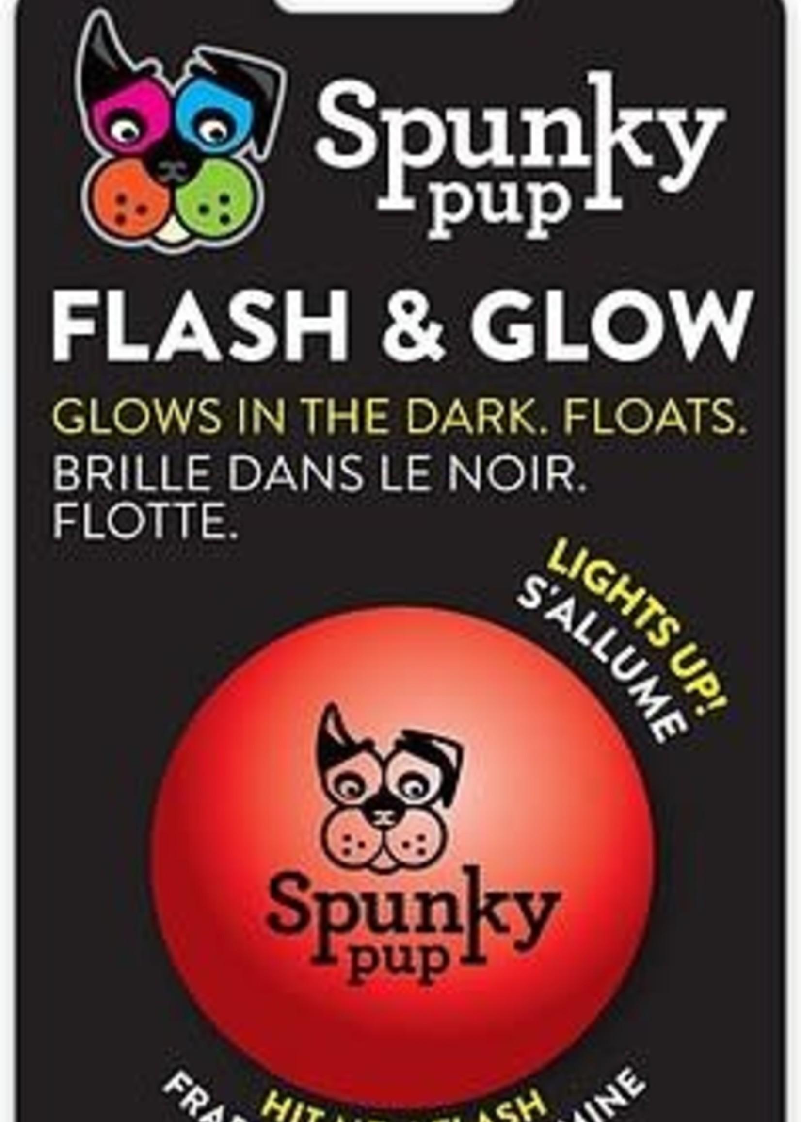Spunky Pup Spunky Pup Flash & Glow Ball
