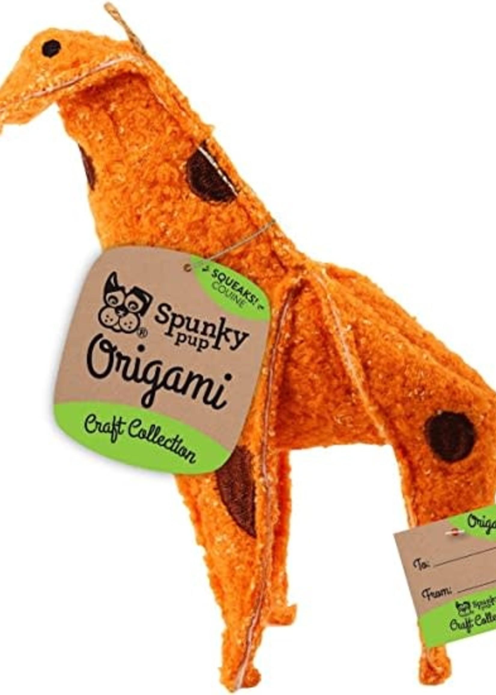 Spunky Pup Spunky Pup Origami Plush - Giraffe