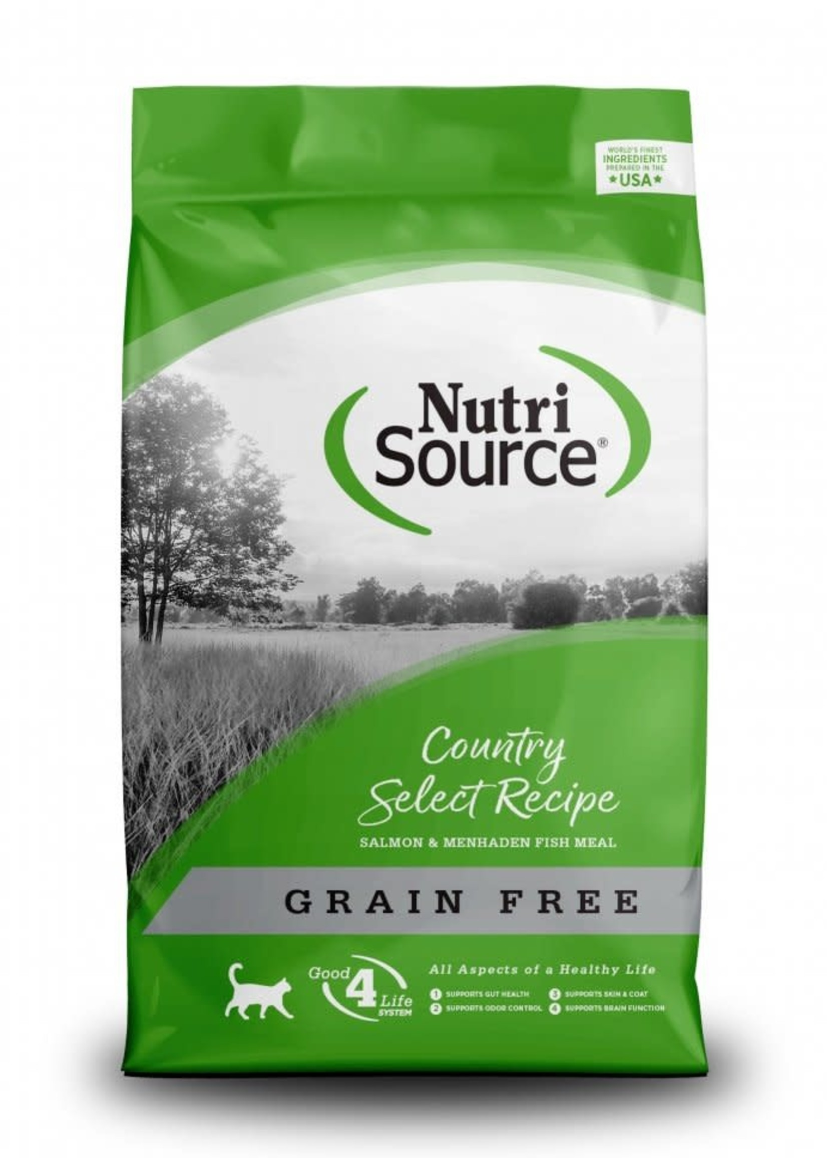 Nutrisource NutriSource Grain-Free Country Select Dry Cat Food 15lbs