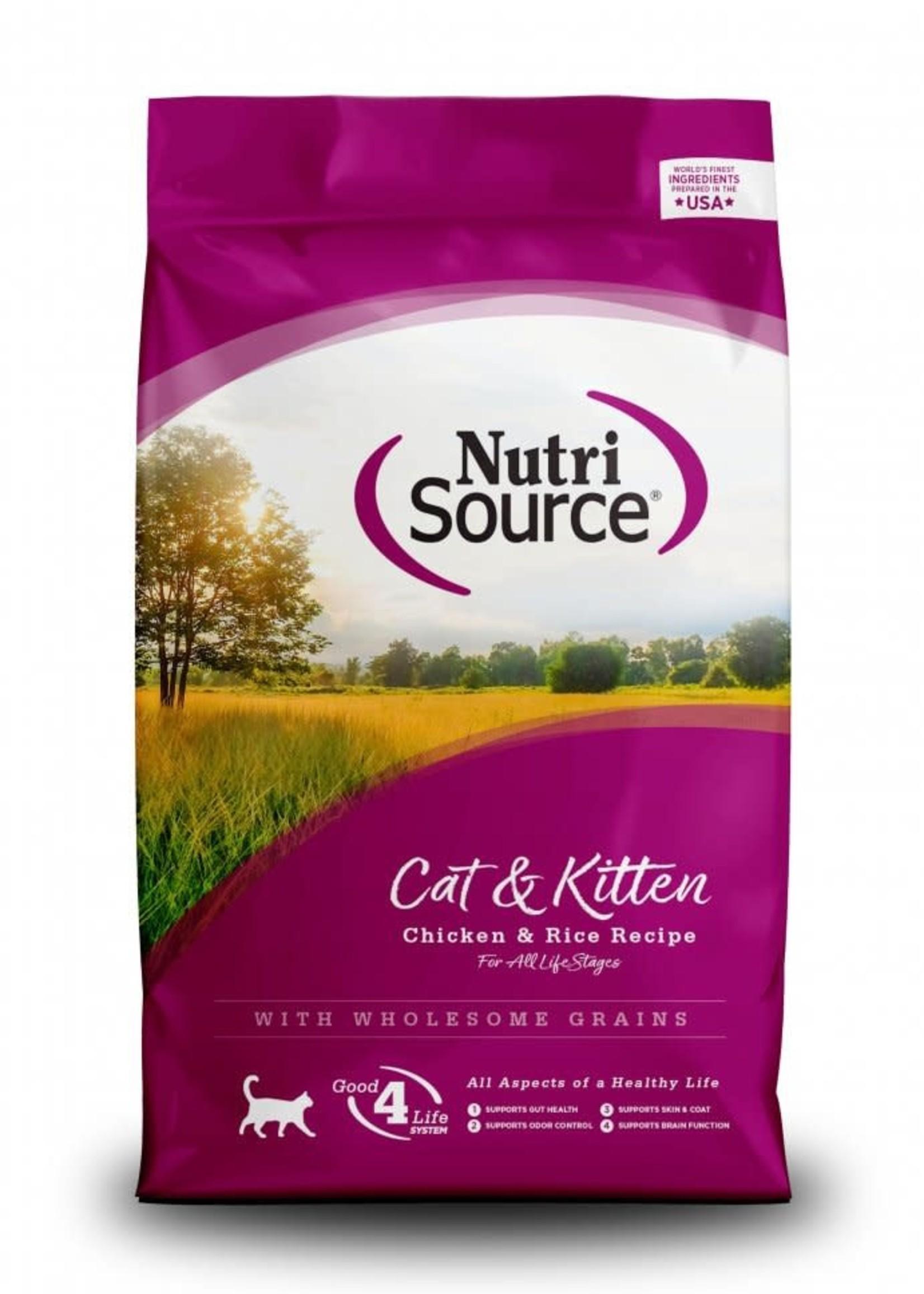 Nutrisource NutriSource Cat & Kitten Dry Cat Food 16lbs