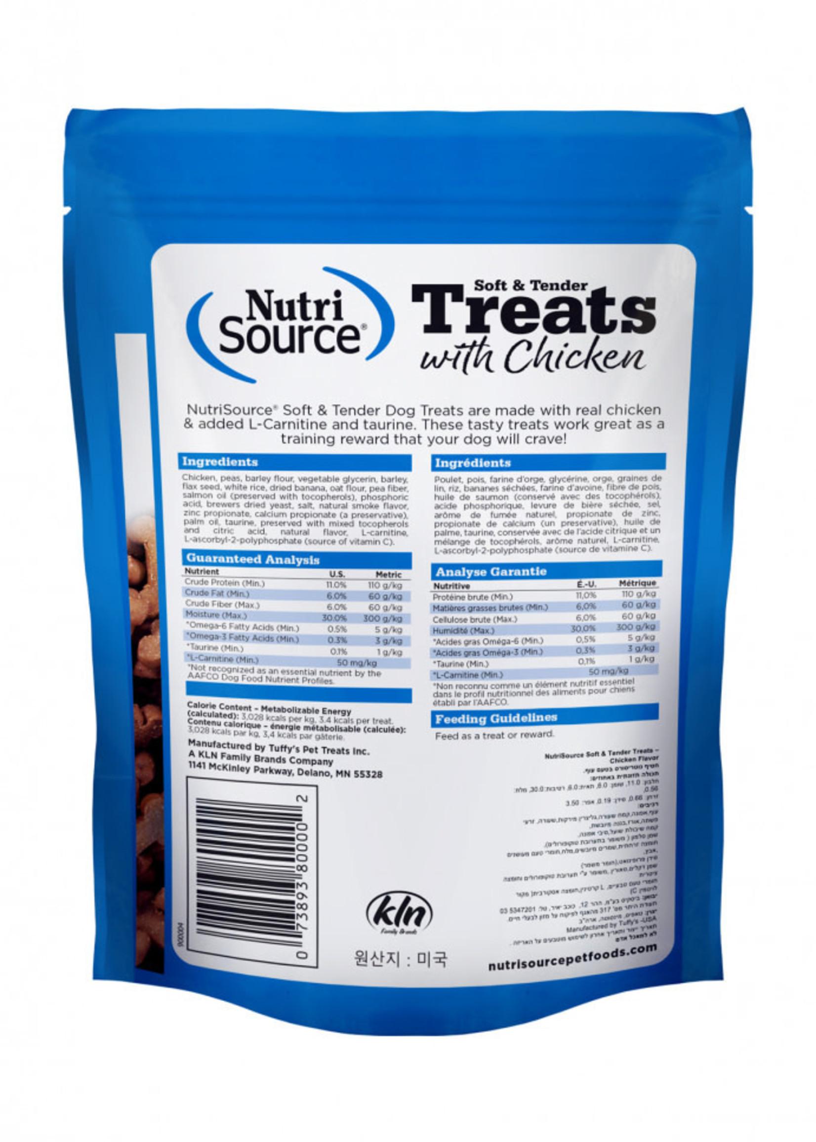 Nutrisource NutriSource Soft & Tender Chicken Treats 6 oz