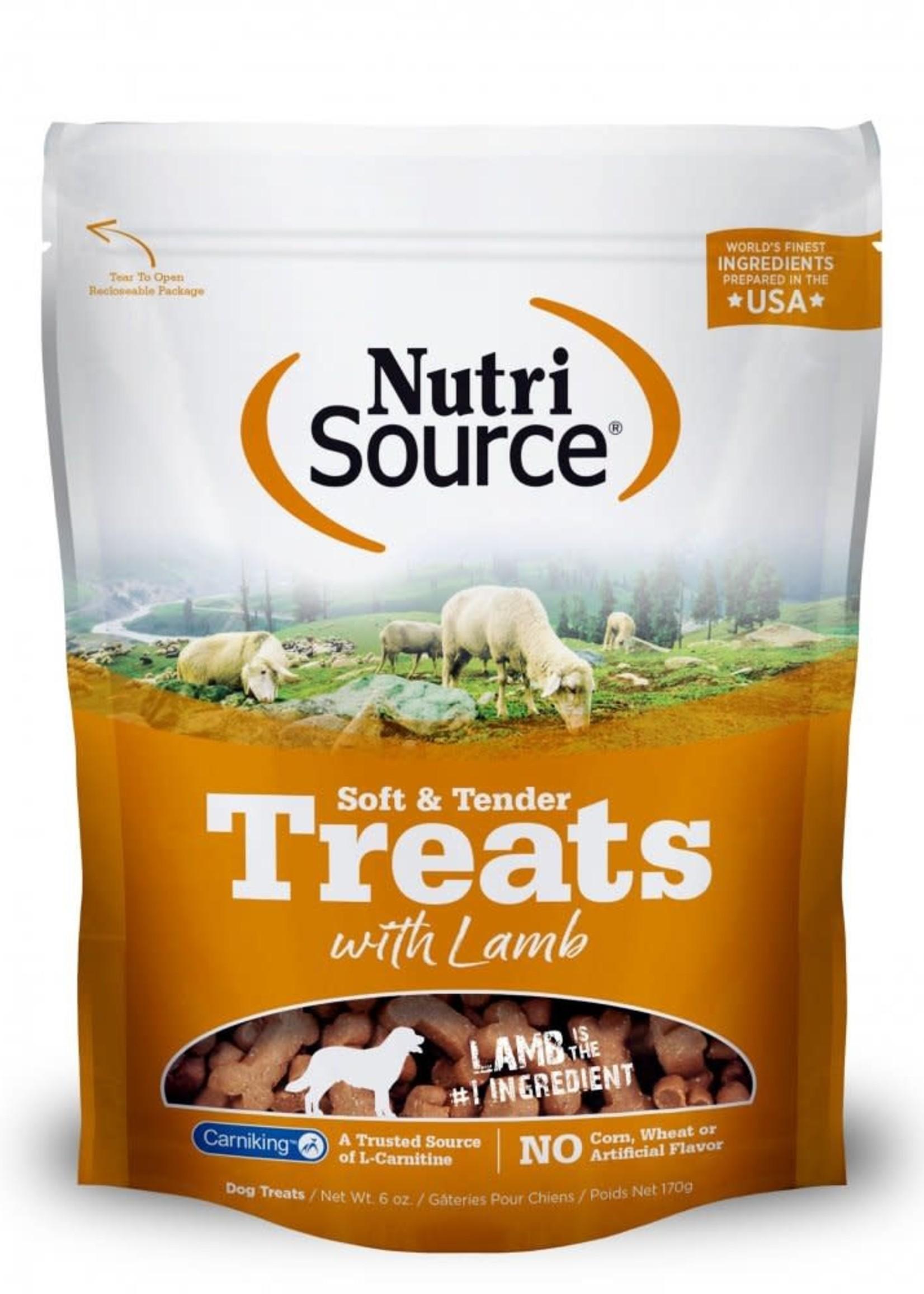 Nutrisource NutriSource Soft & Tender Lamb Treats 6oz