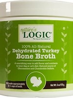 Nature's Logic Nature's Logic Dehydrated Turkey Bone Broth Dog & Cat Food Topper 6oz