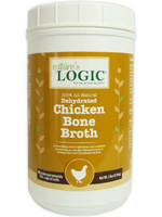 Nature's Logic Nature's Logic Dehydrated Chicken Bone Broth Dog & Cat Food Topper 2lbs