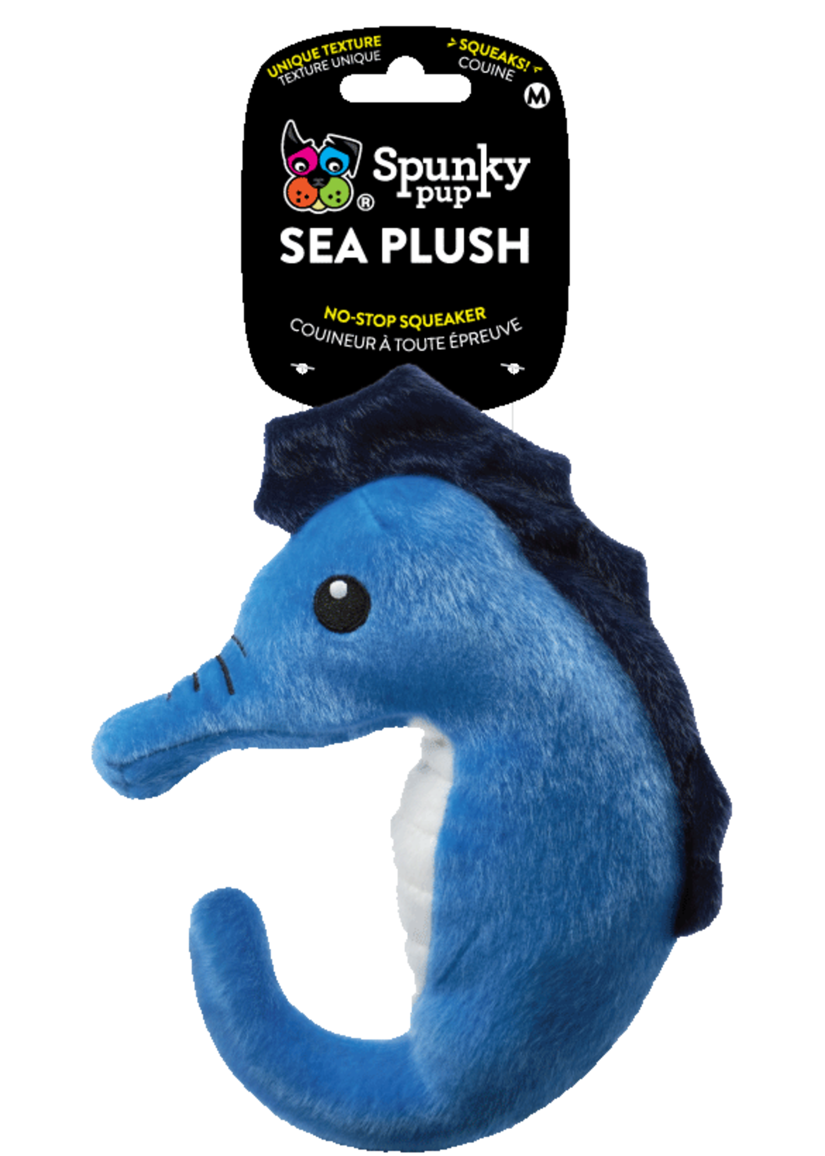 Spunky Pup Spunky Pup Sea Plush Seahorse Small