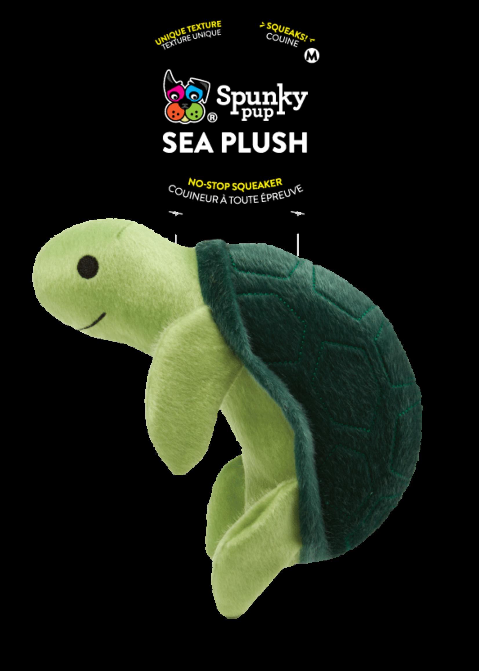 Spunky Pup Spunky Pup Sea Plush Turtle Small