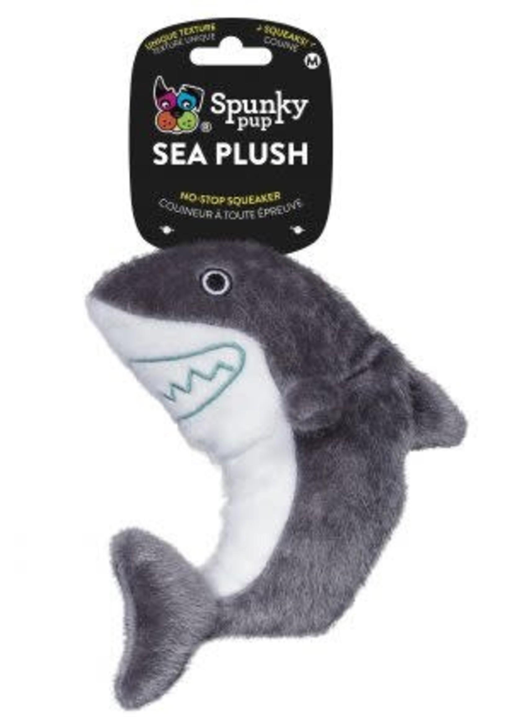 Spunky Pup Spunky Pup Sea Plush Shark Large