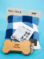 """Tall Tails Tall Tails Blanket Navy 30"""" x 40"""""""