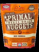 Primal Primal Dog Freeze Dried Beef  Nugget 14 oz.